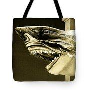 Golden Shark In Ocean City Tote Bag