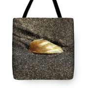 Golden Shell Tote Bag