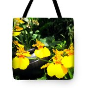 Golden Shower Or Dancing Lady Flower Tote Bag