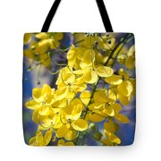 Golden Shower Tree - Cassia Fistula - Kula Maui Hawaii Tote Bag