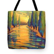 Golden Silence 3 Tote Bag
