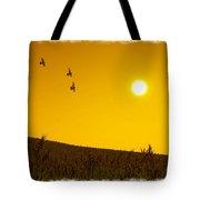 Golden Sky... Tote Bag