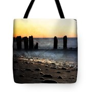 Golden Sky Whitefish Point Michigan Tote Bag