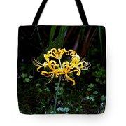 Golden Spider Lily Tote Bag