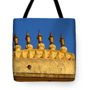 Golden Spires Udaipur City Palace India Tote Bag