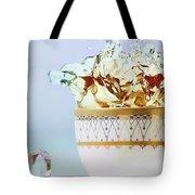 Golden Splash Tote Bag
