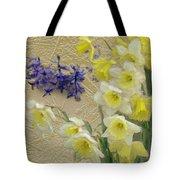Golden Spring Tote Bag