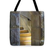 Golden Staircase Tote Bag