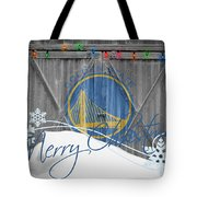 Golden State Warriors Tote Bag