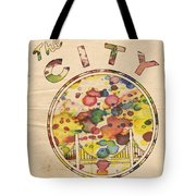 Golden State Warriors Retro Art Tote Bag