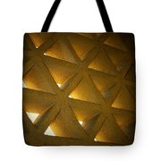 Golden Stonework  Tote Bag