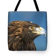 Golden Strength Tote Bag