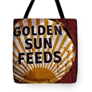 Golden Sun Feeds Tote Bag