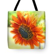 Golden Sunflower Tote Bag