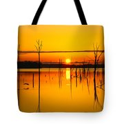 Golden Sunrise Iv Tote Bag