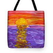 Golden Sunset 2 Tote Bag