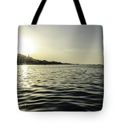 Golden Sunset In Italy Tote Bag