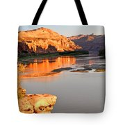 Golden Sunset On The Colorado Tote Bag