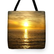 Golden Sunset Pismo Beach Tote Bag