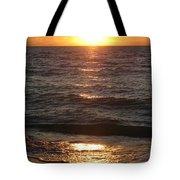 Golden Sunset At Destin Beach Tote Bag