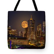 Golden Supermoon Tote Bag