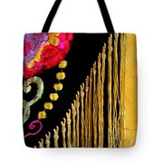 Golden Threads Tote Bag