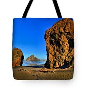 Golden Towers Of Bandon Tote Bag