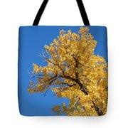 Golden Tree Tote Bag
