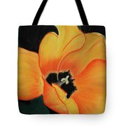 Golden Tulip Tote Bag