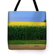 Golden Waves Of Grain Tote Bag
