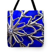Golden Web Tote Bag by Catherine Ratliff