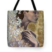 Golden Wind Tote Bag
