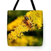 Goldenrod Beetle Tote Bag