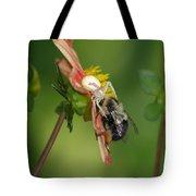 Goldenrod Spider Tote Bag
