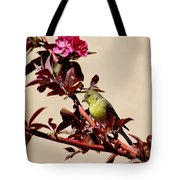 Goldfinch In Tree 031015aa Tote Bag