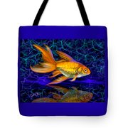 Goldfish Electric Tote Bag