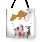 Goldfish Art Tote Bag