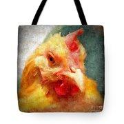Goldie's Turn - Silk Paint Tote Bag