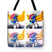 Goldoraks Tote Bag