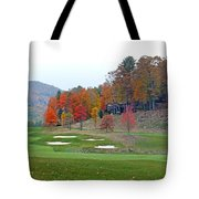 Golf Course At Lake Toxaway Tote Bag