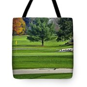 Golf Course Guardians Tote Bag