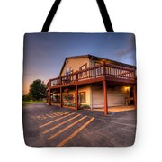 Golf Course Sunset In Salem Ohio Tote Bag