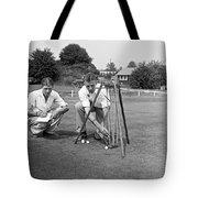 Golf Green Experiments Tote Bag