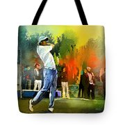 Golf In Gut Laerchehof Germany 01 Tote Bag