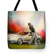 Golf In Gut Laerchehof Germany 03 Tote Bag