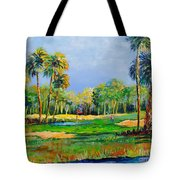 Golf In The Tropics Tote Bag