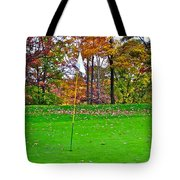 Golf My Way Tote Bag by Frozen in Time Fine Art Photography