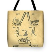 Golf Putter Patent Tote Bag by Edward Fielding