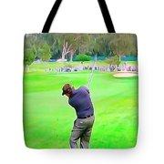 Golf Swing Drive Tote Bag
