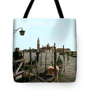 Gondola Dock Tote Bag